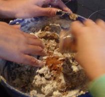 préparation des cookies