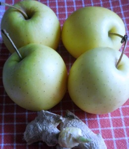 pomme gingembre