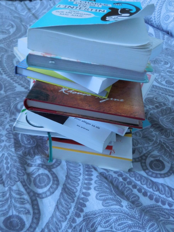 pile de livre à lire
